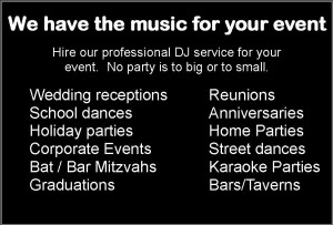 For your event big